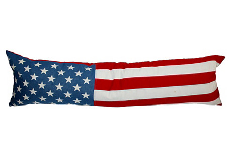 Flag Bolster Pillow