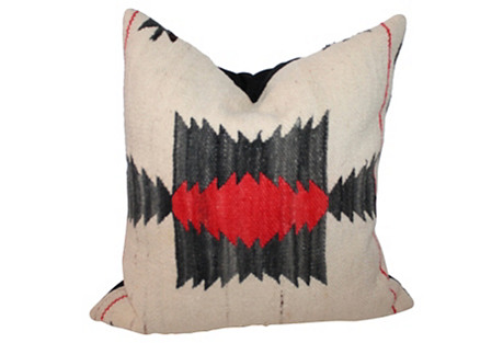 Geometric Weaving Pillow