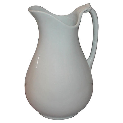 1890s Ironstone Pitcher