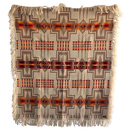 Pendleton Double-Sided Blanket w/ Fringe