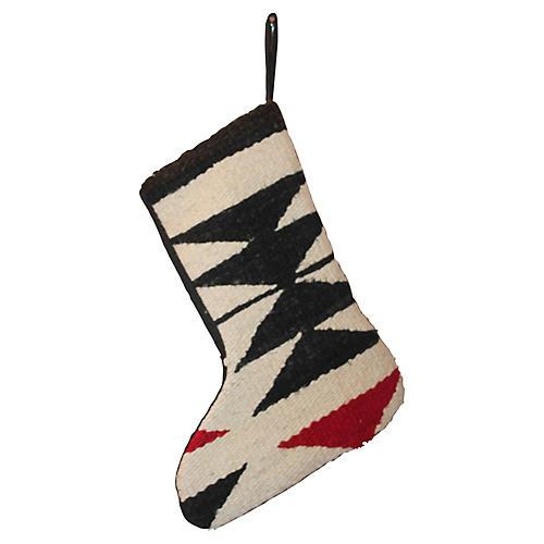 Navajo-Style Stocking