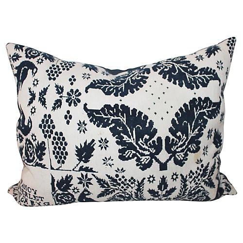 Coverlet Pillow