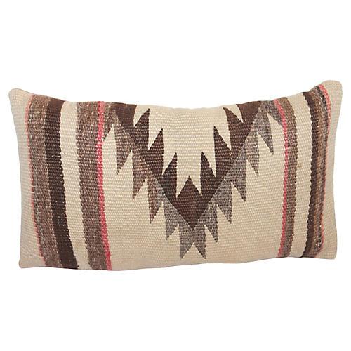 Geometric Weaving Pillow