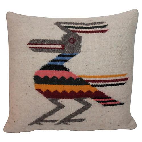 Wool Roadrunner Pillow