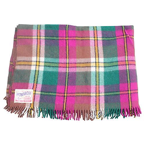 Monarch Wool Plaid Blanket
