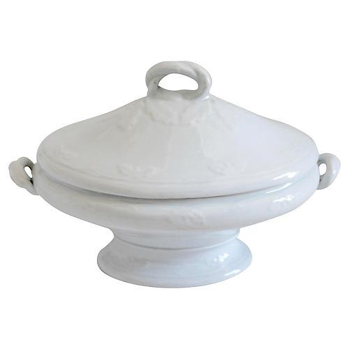 Ironstone Serving Dish