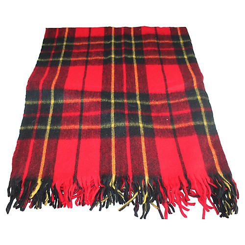 Red & Green Plaid Blanket