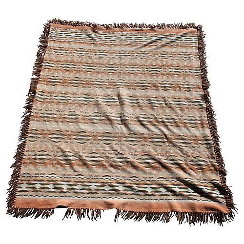1960s Geometric Blanket