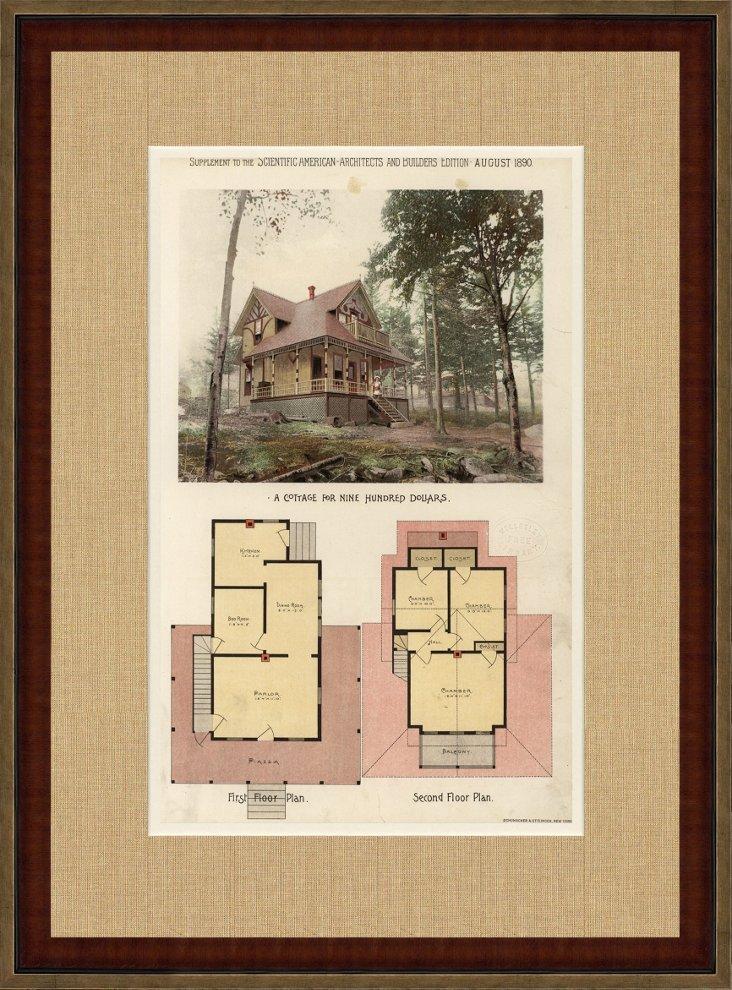 Cottage for Nine Hundred Dollars, 1890