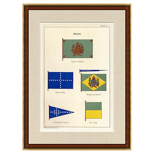 Brazil Naval Flag, 1882