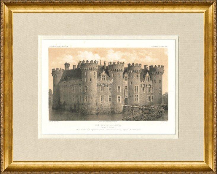 Château de Villebon, 1861
