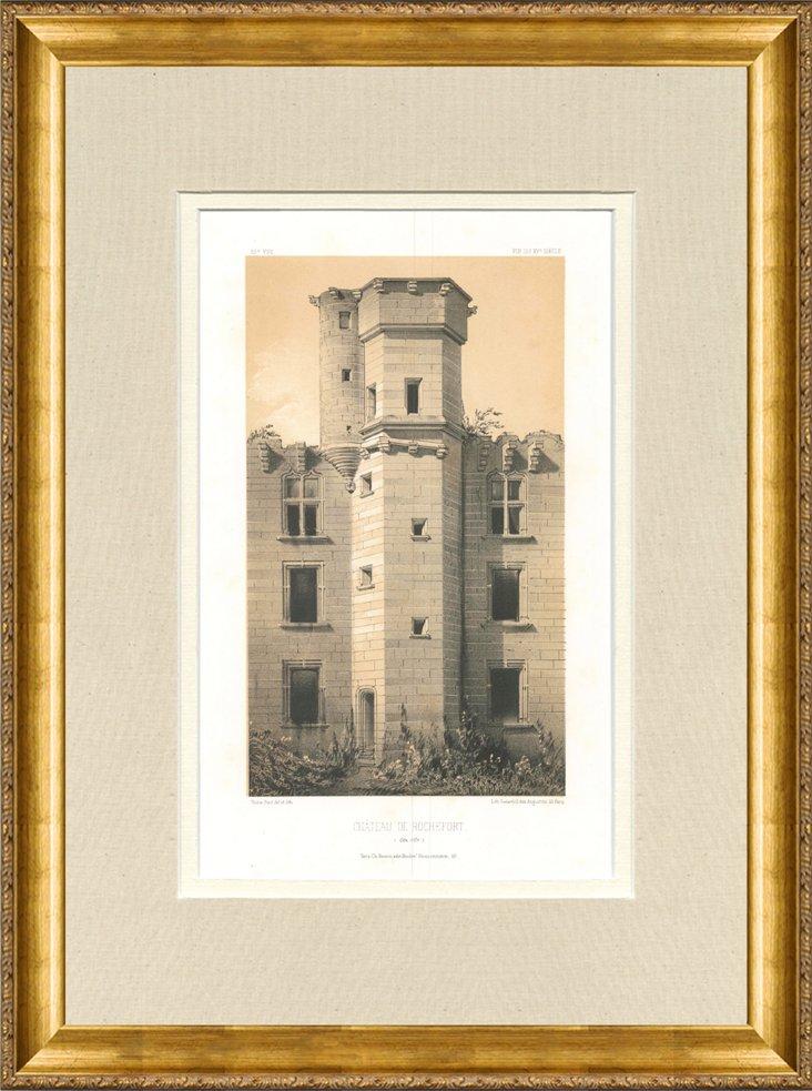 Château de Rochefort, 1861