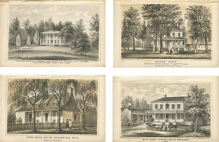 Scenes of New York City, 1864, S/4