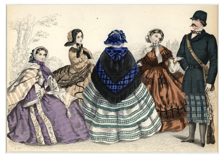 Fashion Print, 1857