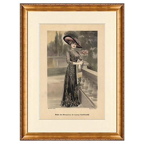 La Mode Illustrée Fashion Print, 1912
