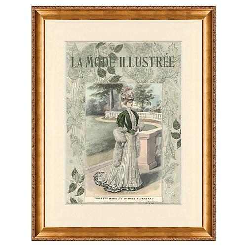 1900s La Mode Illustrée Cover