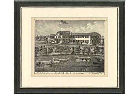 Spring Lake, Lake House, 1876