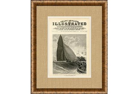 Frank Leslie Yacht Race, 1885