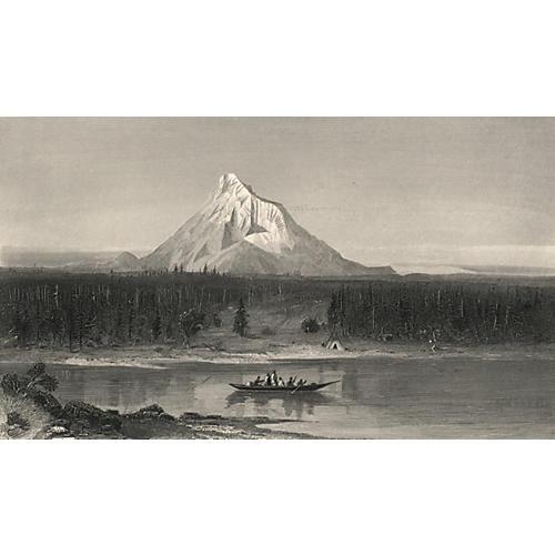 Mount Hood, Oregon, 1874