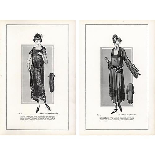 Haute CoutureFashion Prints, Pr, 1922