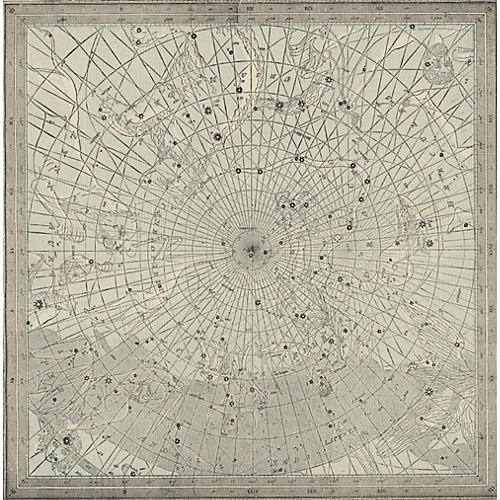 Astrological Star Map No.5, C. 1900