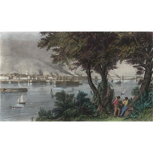 Scene of St. Louis, 1874
