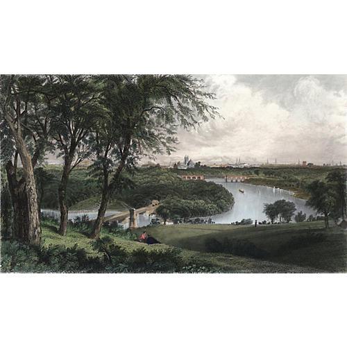 Philadelphia from Belmont, 1874