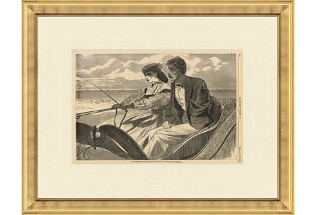 Veteran Print by Winslow Homer, 1865