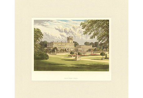Trentham Hall, 1880