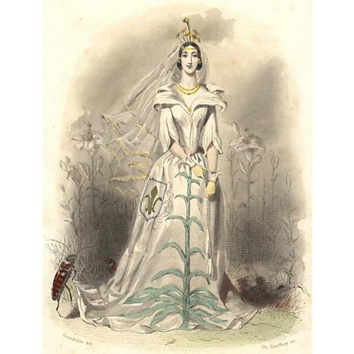 Flower Lady, 1847