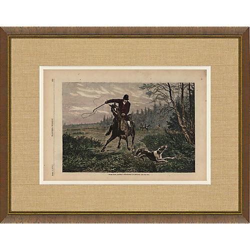 Harper's Weekly Horse Illustration 1876