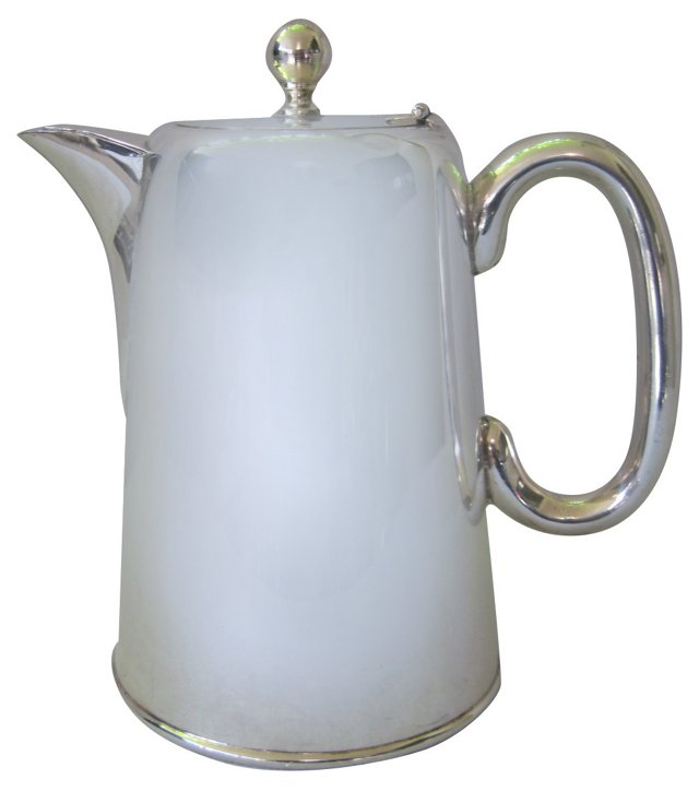 Sheffield Silverplate Coffee Pot