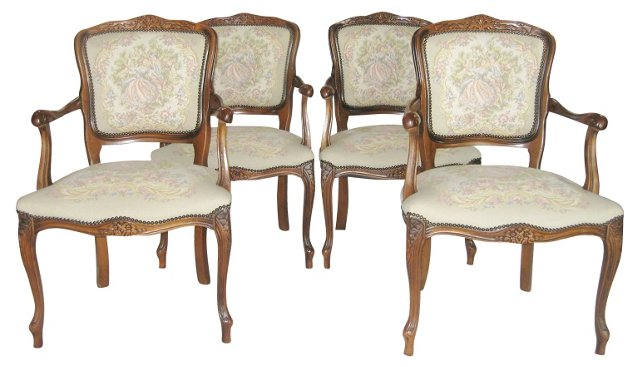 Italian Chairs, Set of 4