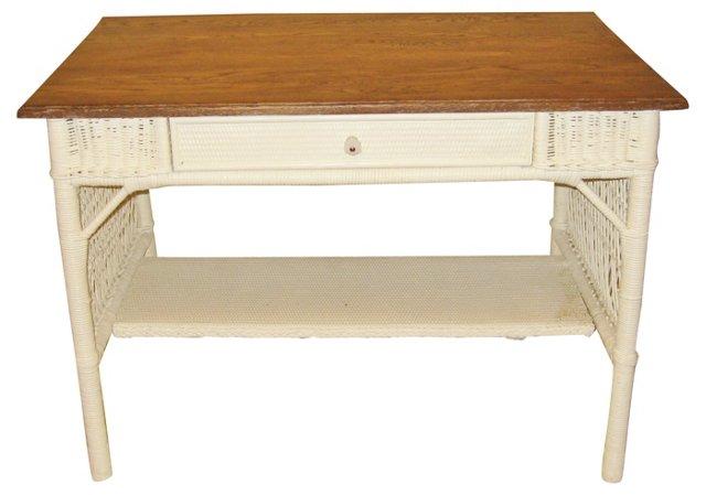 1920s  Wicker Desk