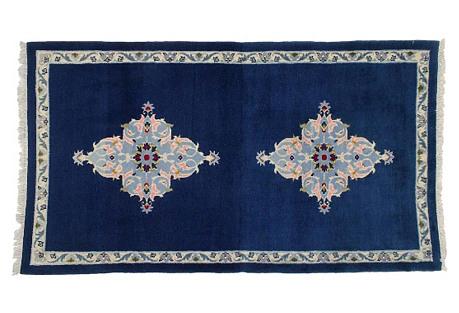 Persian Kashan Rug, 3'4