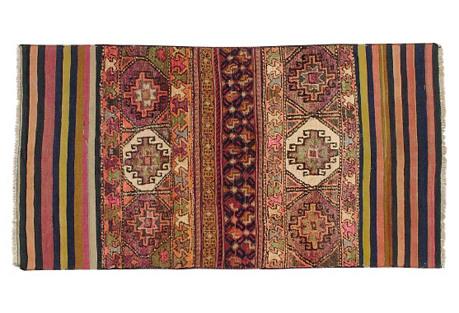Persian Souf Rug, 3'7