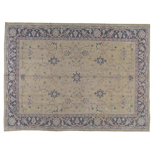 """Oushak Carpet, 9'6"""" x 12'10"""""""