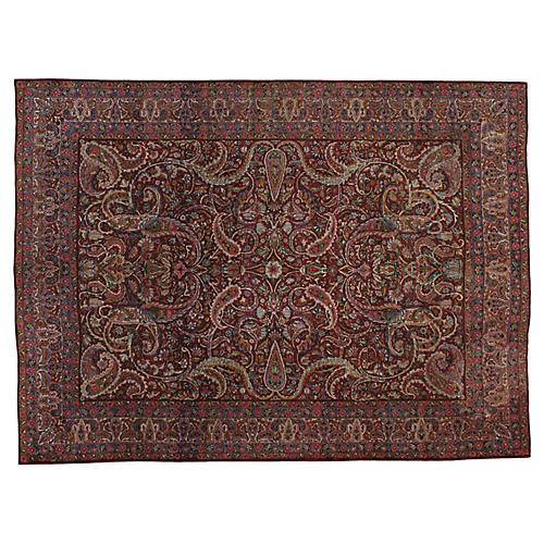 Antique Persian Rug, 8' x 11'