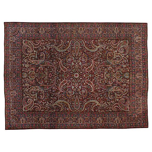 Antique Persian Rug, 8' x 11'