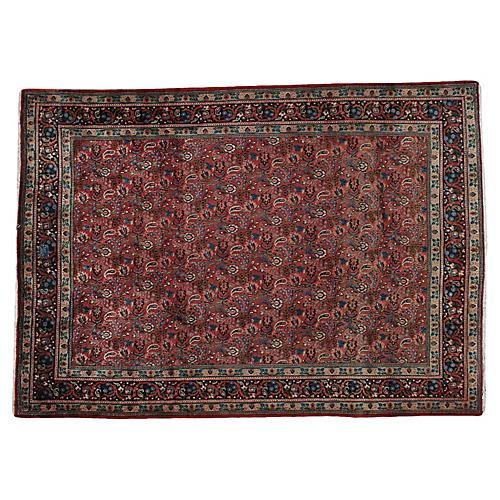 """Persian Rug, 7'4"""" x 10'4"""""""