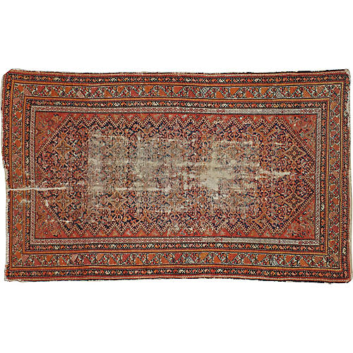 "Persian Malayer Rug, 3'11"" x 6'5"""
