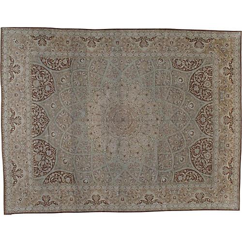 "Persian Carpet, 9'9"" x 12'10"""