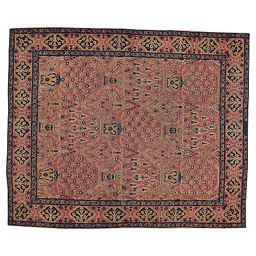 Antique Persian Rug, 5' x 6'