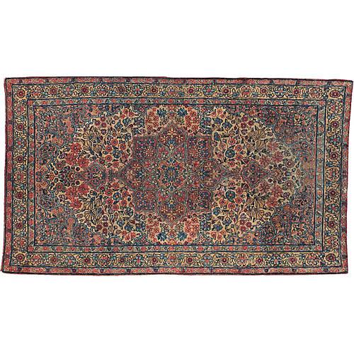 """Antique Persian Rug, 2'11"""" x 5'"""