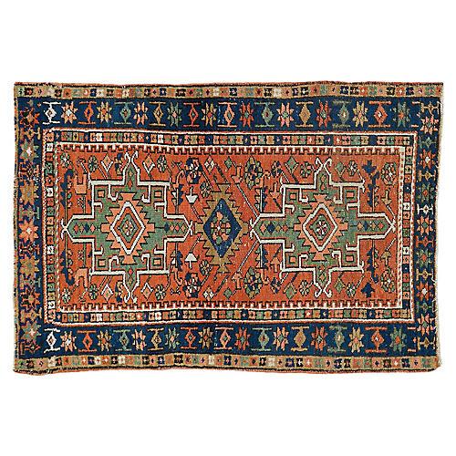 """Persian Rug, 2'11"""" x 4'2"""""""