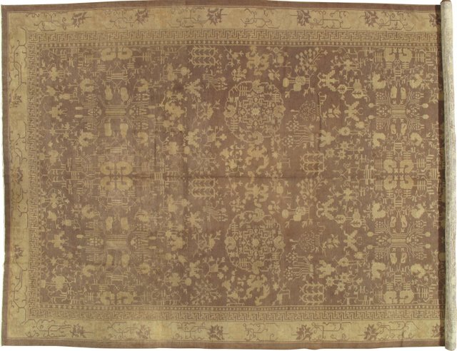 Antique Chinese Carpet, 14' x 10'
