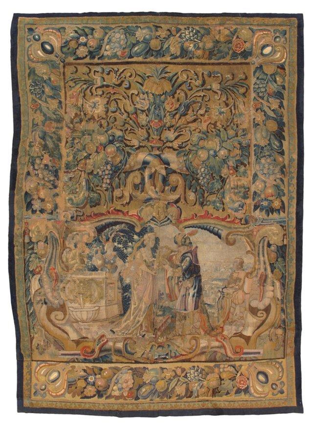 16th-C. Flemish Tapestry
