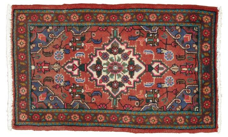 """Persian Rug, 2' x 3'3"""""""