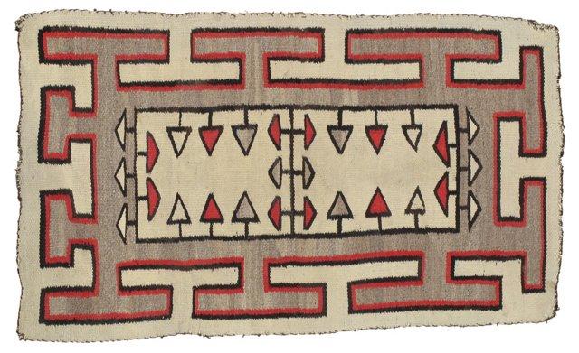 """Antique Navajo Rug, 2'3"""" x 4'"""