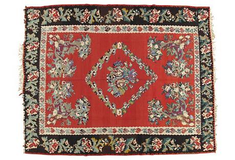 Turkish Kilim, 9' x 11'6